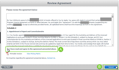 Third example of click-through agreement